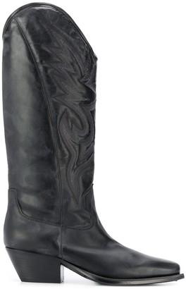 Vic Matié knee cowboy boots