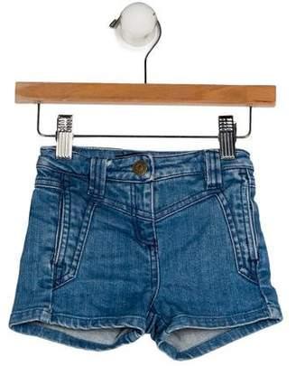 Little Marc Jacobs Girls' Four Pockets Denim Shorts