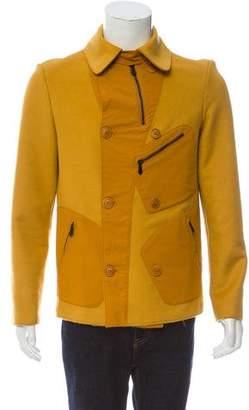 Bottega Veneta Wool-Cashmere Button-Up Coat