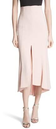 Tracy Reese High Waist Midi Skirt