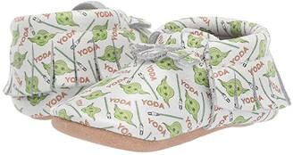 Freshly Picked Star Wars Yoda Moccasin (Infant/Toddler)