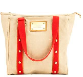 Louis Vuitton Beige Cabas Antigua MM Bag (4042040)