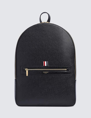 Thom Browne Pebble Grain Leather Backpack