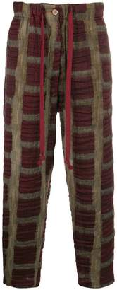 Uma Wang cropped tapered trousers