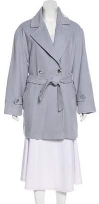 St. John Belted Short Coat