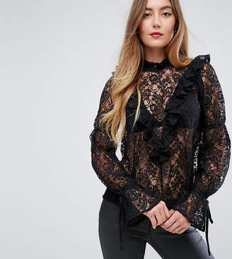 Asos Tall TALL Historical Lace Blouse