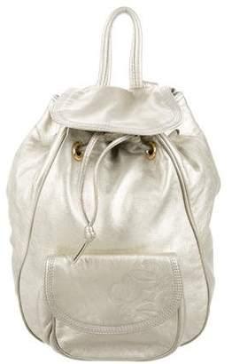Loewe Metallic Leather Backpack
