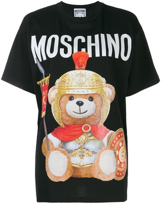 Moschino Teddy Gladiator print T-shirt