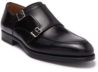 Magnanni Parlon Double Monk Strap Leather Loafer