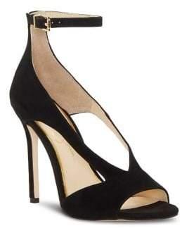 Jessica Simpson Jasta Suede Ankle-Strap Pumps