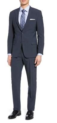 Hart Schaffner Marx Brooklyn Classic Fit Stretch Wool Blend Suit