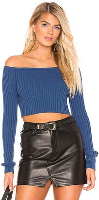 Lovers + Friends Bells Crop Sweater