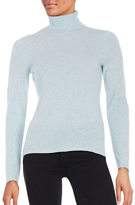 Lord & Taylor Cashmere Turtleneck Sweater $174 thestylecure.com