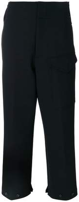 Joseph large pocket cropped trousers