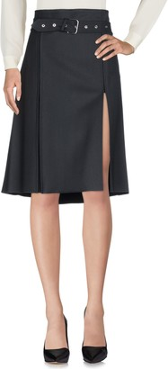 Helmut Lang Knee length skirts - Item 35372584WK