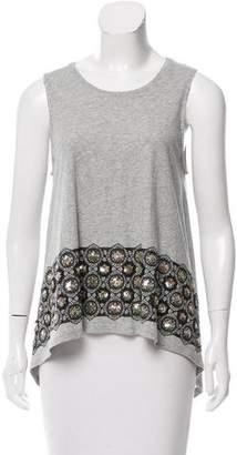 Sass & Bide Sequin-Accented Knit Top w/ Tags