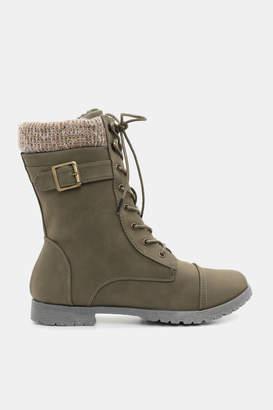 Ardene Insulated Combat Boots