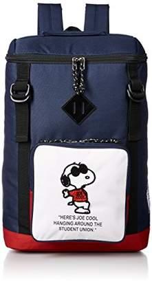 Snoopy [スヌーピー] スヌーピー ジョー・クール Wベルトスクエアリュックサック spr-175b NV/RD ネイビーレッド(176)