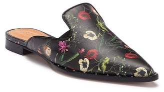 Schutz Tae Floral Leather Loafer