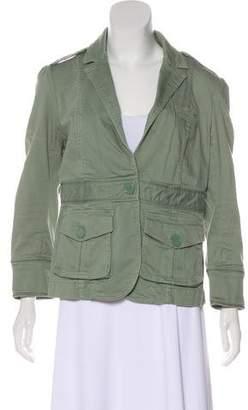 Marc Jacobs Notch-Lapel Button-Up Jacket