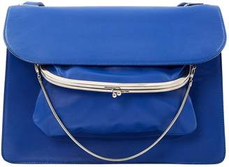 Maison Margiela Blue Leather Handbag
