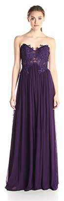 Jovani JVN by Women's Strapless Gown