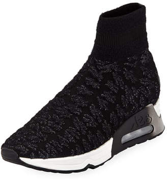 Ash Lullaby Knit High-Top Sneaker