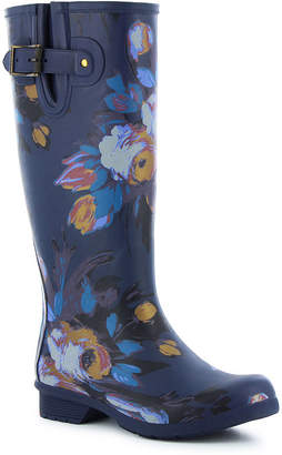Western Chief Womens Rain Boots Waterproof Flat Heel Pull-on Wide