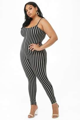 62928f2ec31d White Plus Size Jumpsuit - ShopStyle Canada