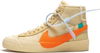 Nike Off - White x Blazer Mid - 'All Hallows Eve' - Canvas/Pale Vanilla