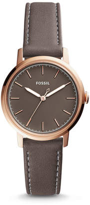 Fossil Neely Three-Hand Gray Leather Watch