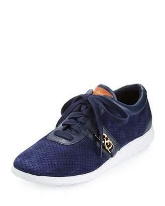 Cole Haan Bria Grand Sport Oxford Sneaker, Marine Blue $150 thestylecure.com