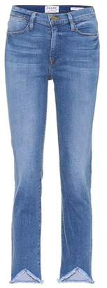 Frame Le High Straight Triangle jeans