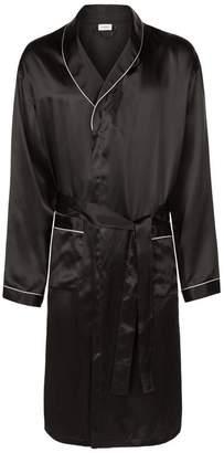 Zimmerli Satin Mid-Length Robe