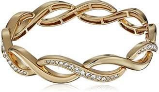 Napier -Tone Twisted Stretch Bracelet
