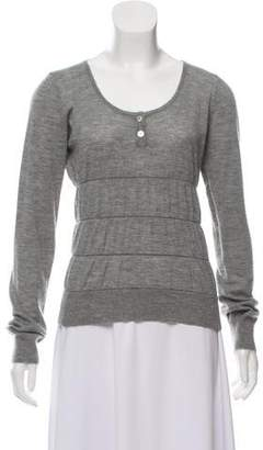 Chanel Cashmere Scoop Neck Sweater