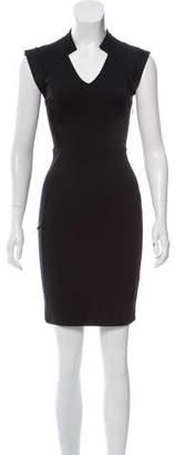 Halston Sleeveless Mini Dress