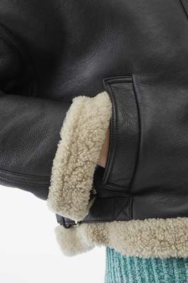3.1 Phillip Lim Shearling Bomber Jacket
