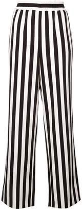 Alice + Olivia Alice+Olivia striped high-waist trousers