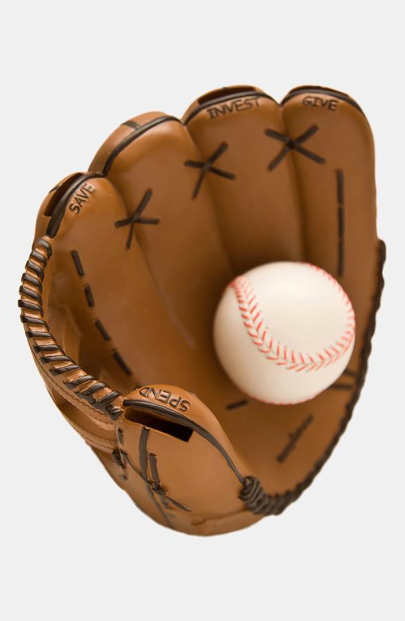 MONEY SCHOLAR Baseball Savings Bank