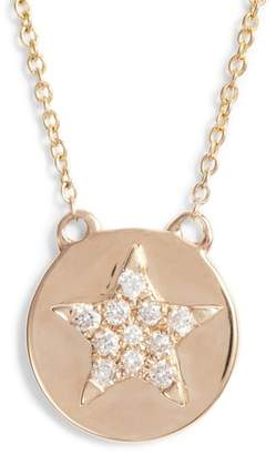 Dana Rebecca Designs Julianne Himiko Star Disc Pendant Necklace