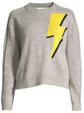 Robert Rodriguez Wool& Cashmere Lightening Sweater
