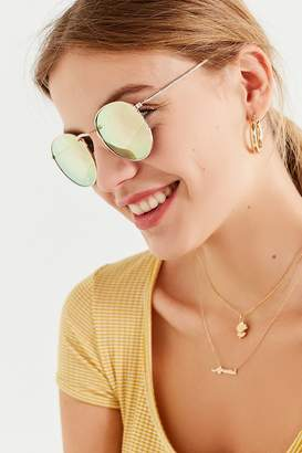 Urban Outfitters Dyllon Metal Round Sunglasses