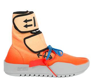 Off-White Off White x the webster exclusive moto wrap sneakers