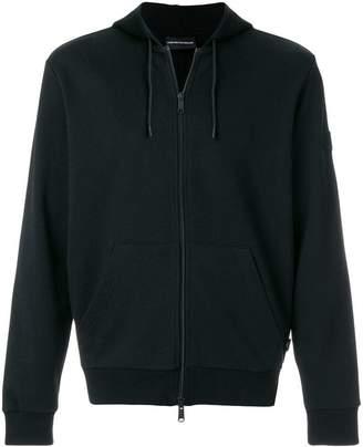 Emporio Armani New York print hoodie