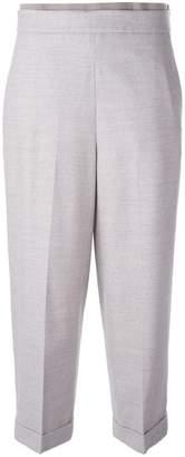 Fabiana Filippi tapered cropped trousers
