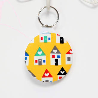 red berry apple New Home Key Ring
