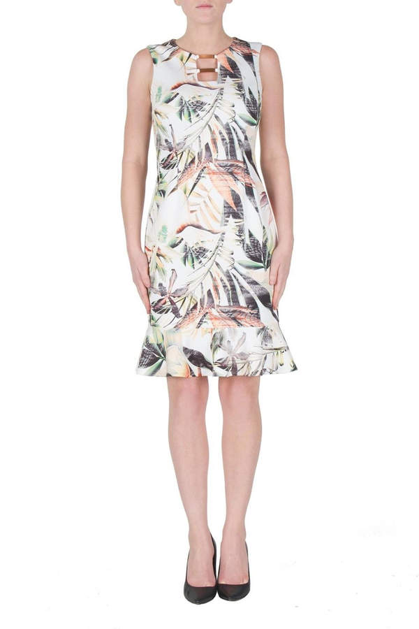 Joseph Ribkoff Exotic Floral Print Dress