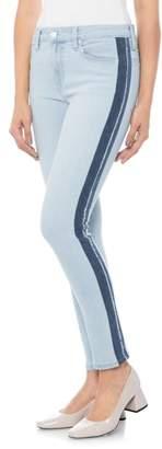 Joe's Jeans Icon Stripe Ankle Skinny Jeans