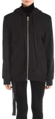 Taverniti So Ben Unravel Project Boxy Zip-Front Hoodie